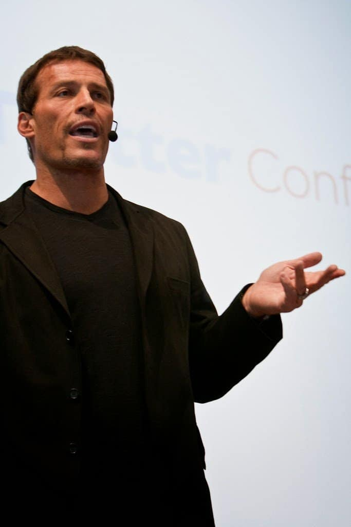 tony robbins and business coaching